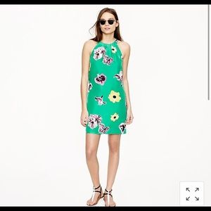 J Crew Swoop Dress in Punk Floral - NWT!